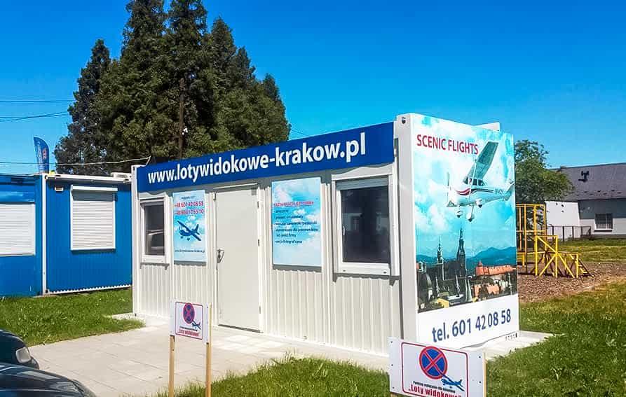 Loty widokowe Kraków Pobiednik Wielki