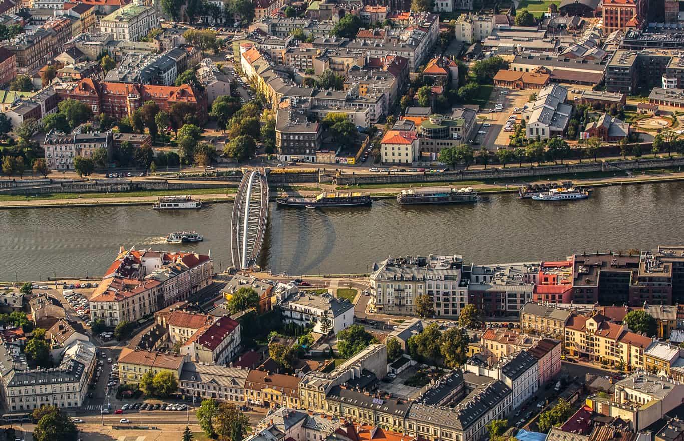 lot widokowy Kraków