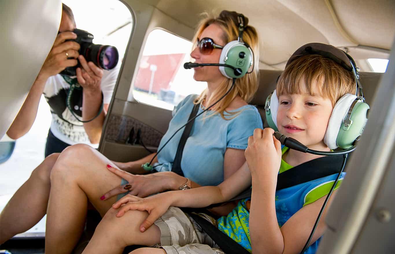 lotnisko Pobiednik loty widokowe samolotem