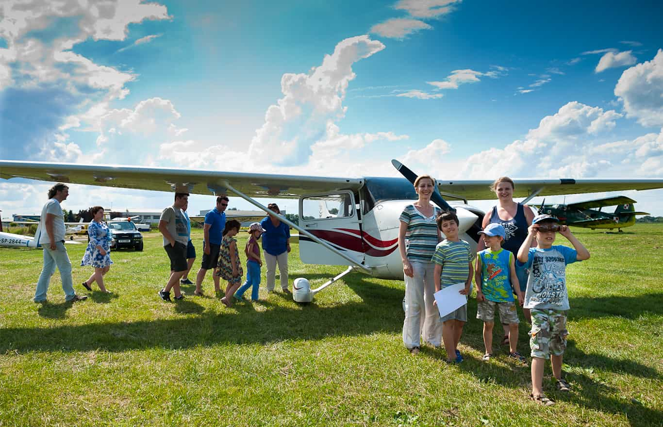 loty turystyczne samolotem