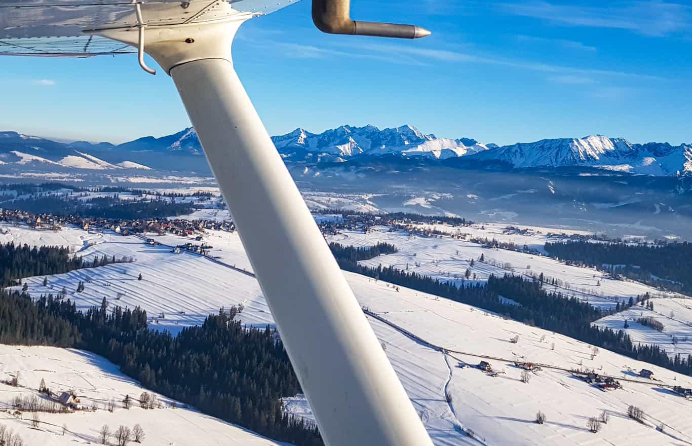 loty widokowe w Zakopanem