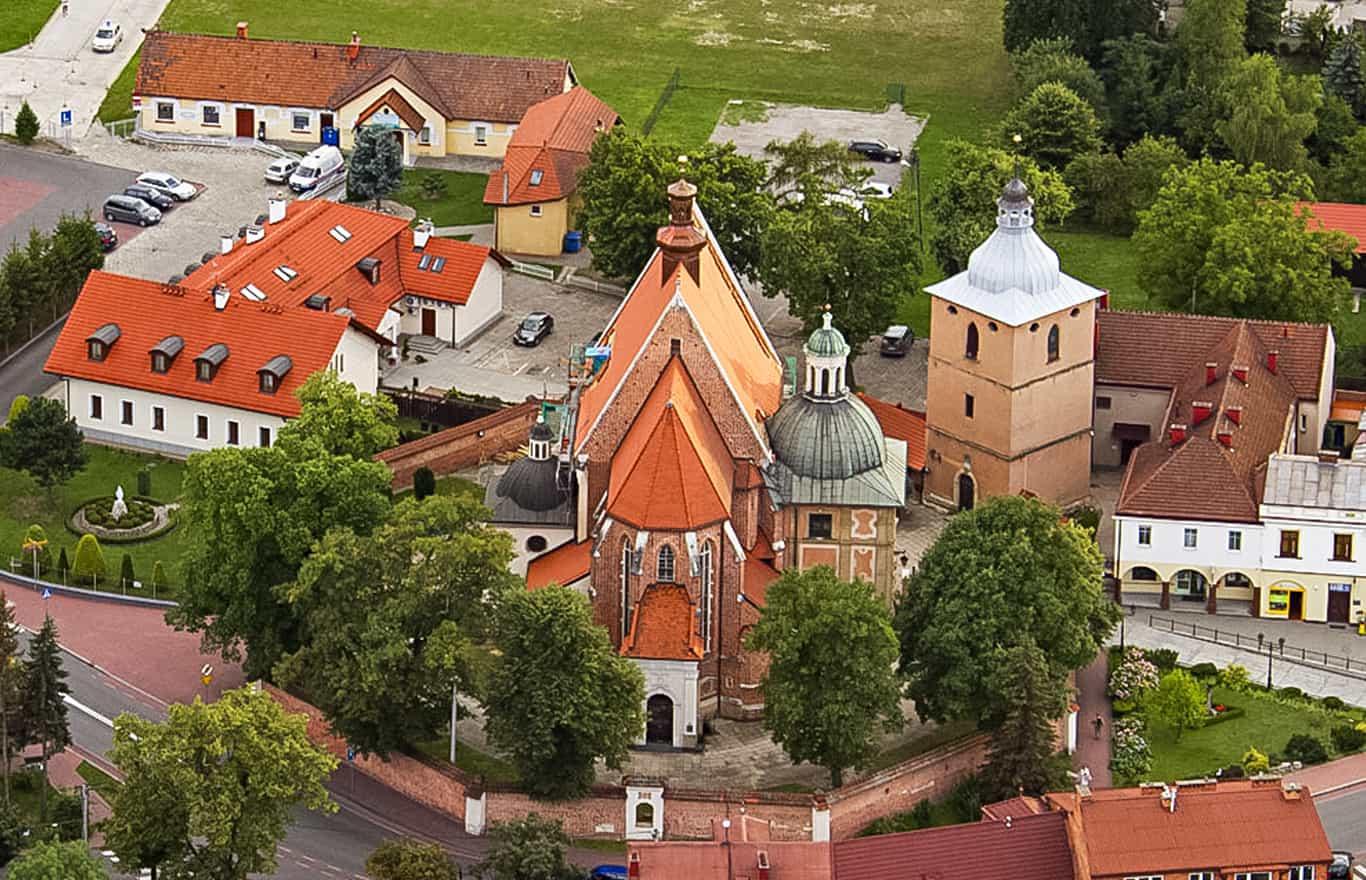 loty widokowe Staniątki okolice Krakowa